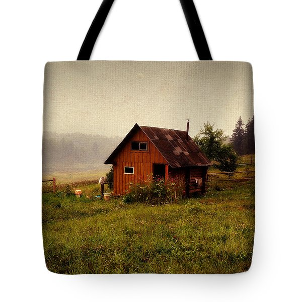 Somewhere In The Countryside. Russia Tote Bag by Jenny Rainbow