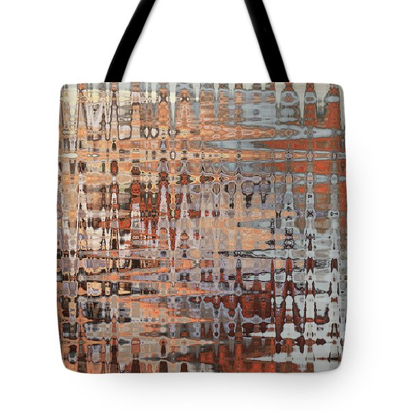 Sophisticated - Abstract Art Tote Bag by Carol Groenen