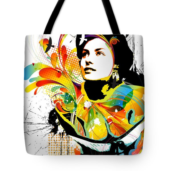 Soul Explosion I Tote Bag by Chris Andruskiewicz