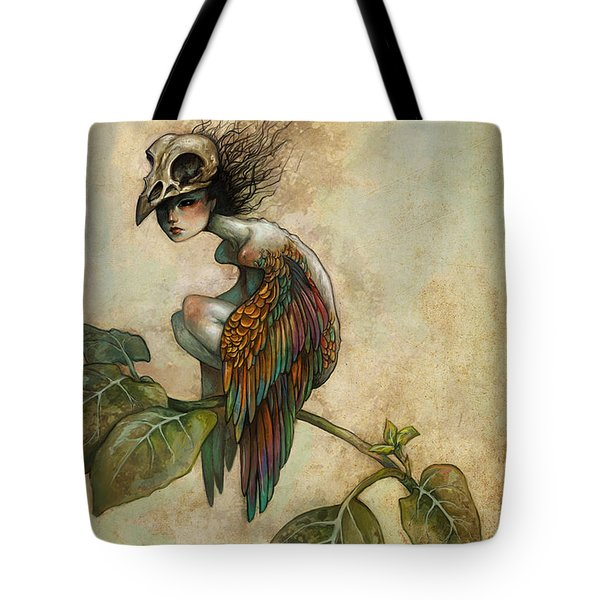 Soul Of A Bird Tote Bag by Caroline Jamhour