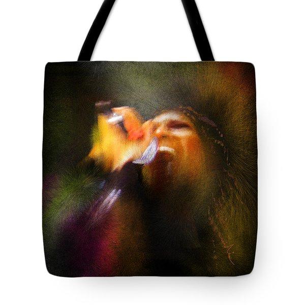 Soul Scream Tote Bag by Miki De Goodaboom