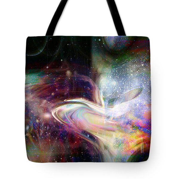 Soul Vibes Tote Bag by Linda Sannuti