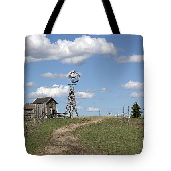 South Dakota: Windmill Tote Bag by Granger