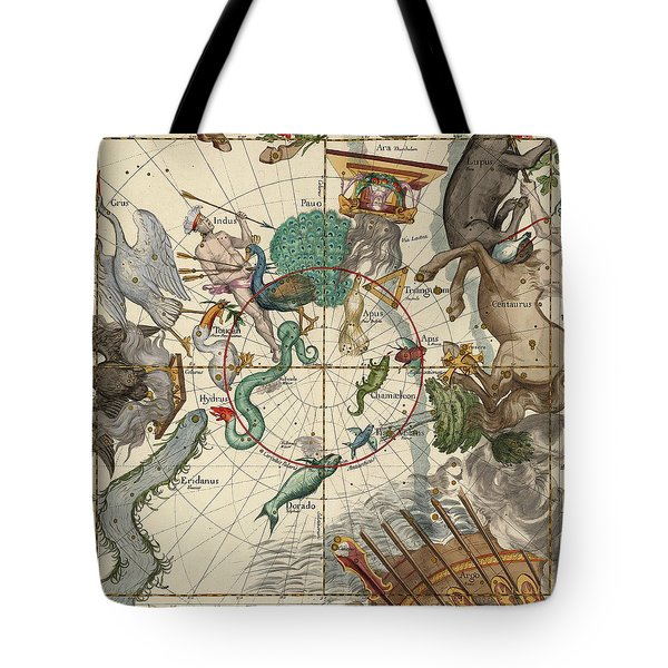 South Pole Tote Bag by Ignace-Gaston Pardies