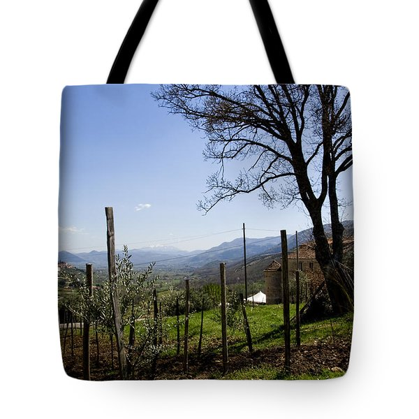 Southern Italian Life Tote Bag by Michelle Sheppard