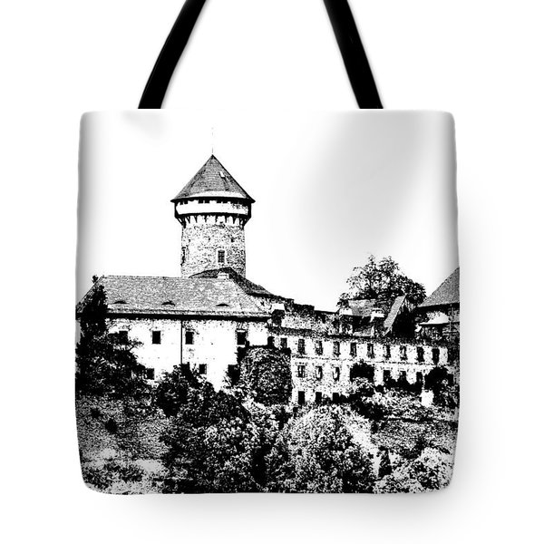 Sovinec - Castle Of The Holy Order Tote Bag by Michal Boubin