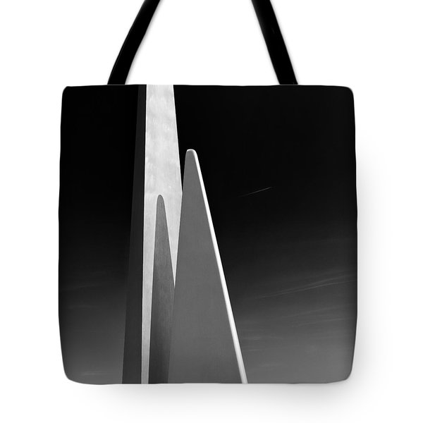 Space Port Tote Bag by Dave Bowman