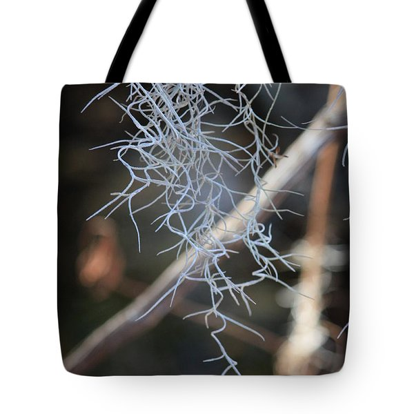 Spanish Moss Tote Bag by Carol Groenen