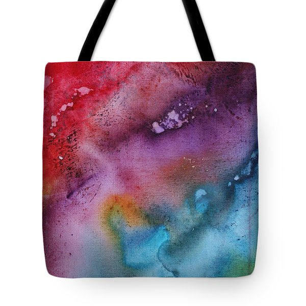 Speak To Me 2 By Madart Tote Bag by Megan Duncanson