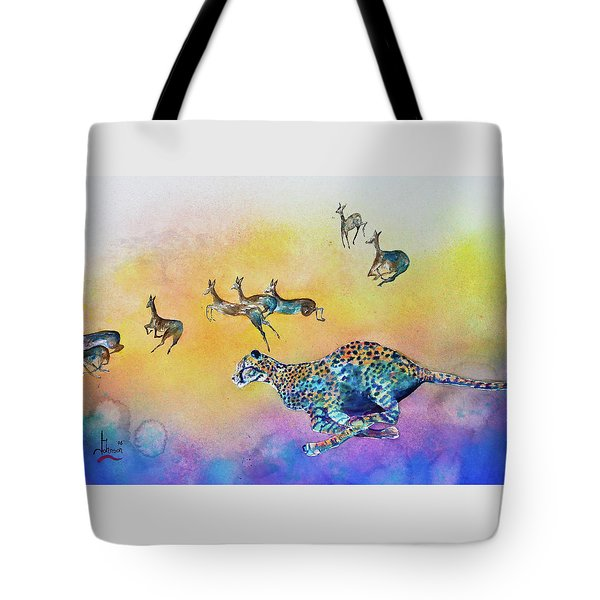 Speed Kills Tote Bag by Larry  Johnson