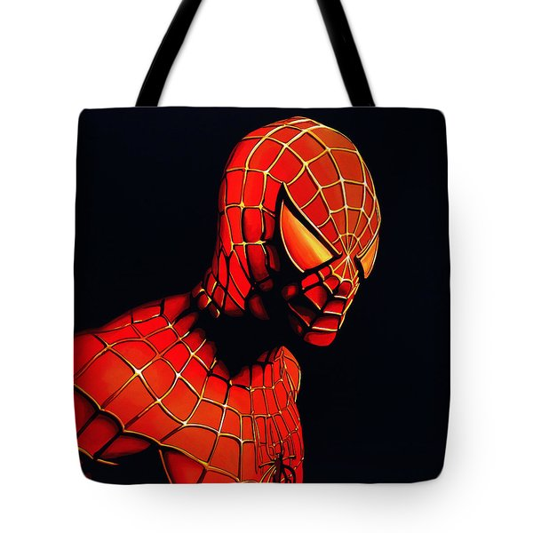 Spiderman Tote Bag by Paul Meijering