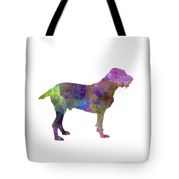 Spinone In Watercolor Tote Bag by Pablo Romero