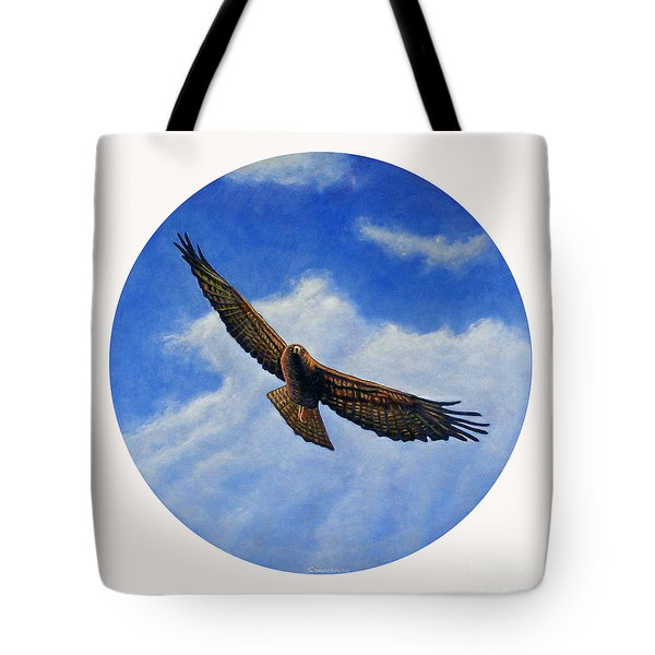 Spirit In The Wind Tote Bag by Brian  Commerford
