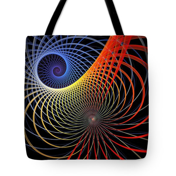 Spirograph Tote Bag by Amanda Moore