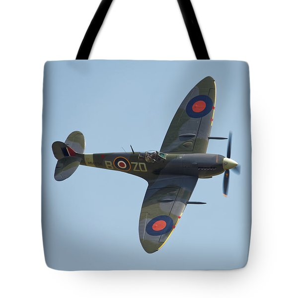 Spitfire Mk9 Tote Bag by Ian Merton