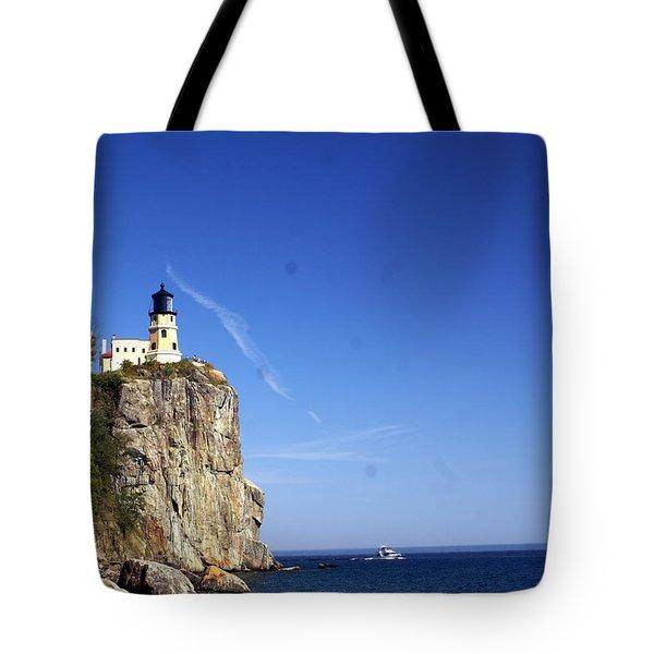 Split Rock 1 Tote Bag by Marty Koch