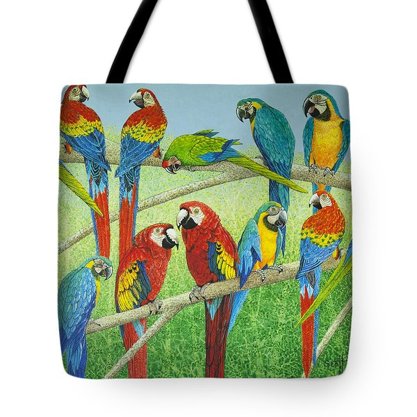 Spreading The News Tote Bag by Pat Scott