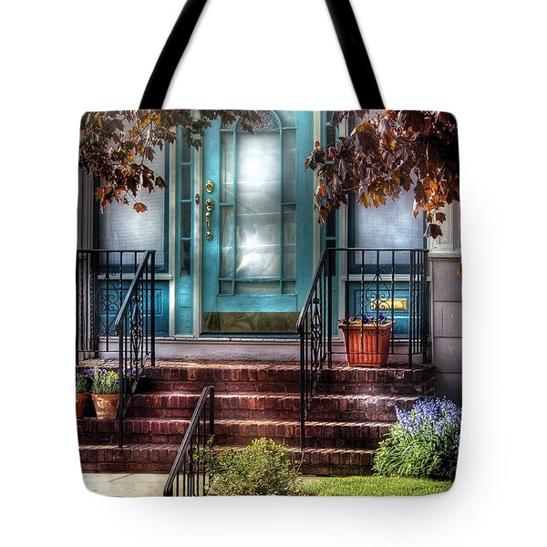 Spring - Door - Apartment Tote Bag by Mike Savad