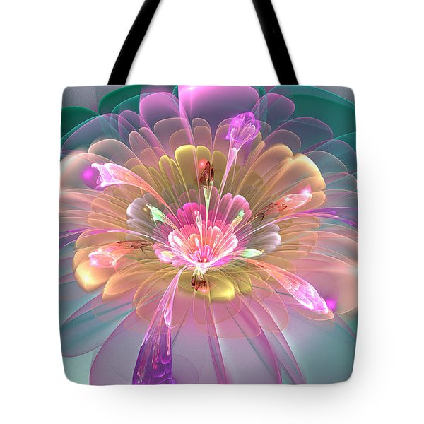 Spring Bloom Tote Bag by Peggi Wolfe