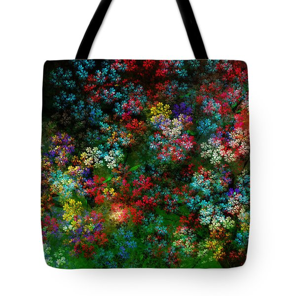 Spring Bouquet Tote Bag by Adam Vance