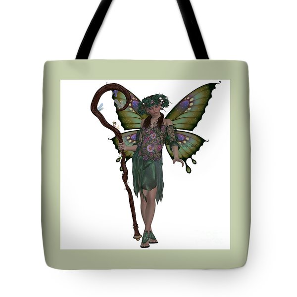 Spring Fairy Tote Bag by Corey Ford