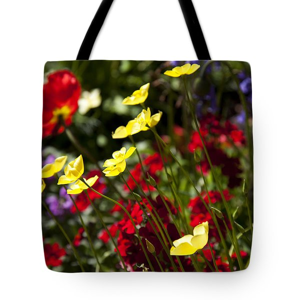 Spring Flowers Tote Bag by Garry Gay