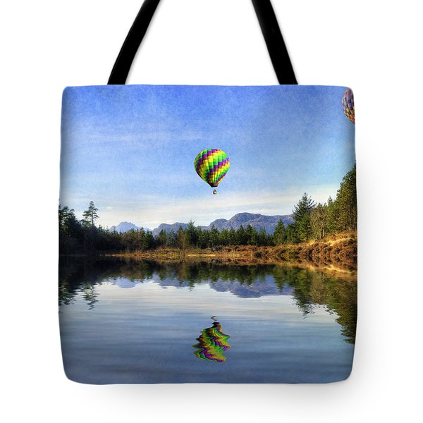 Spring Lake Tote Bag by Ian Mitchell