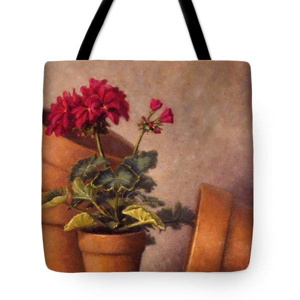 Spring Planting Tote Bag by Rick Hansen
