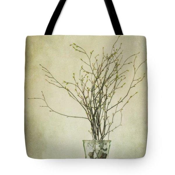 spring unfolds Tote Bag by Priska Wettstein