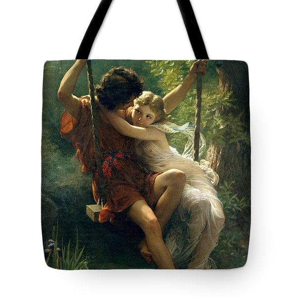 Springtime Tote Bag by Pierre August Cot