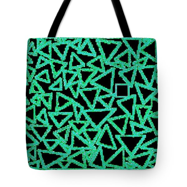 Square One Tote Bag by Will Borden