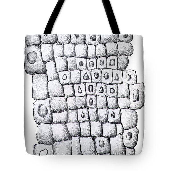 Square Wall Tote Bag by Nancy Mueller