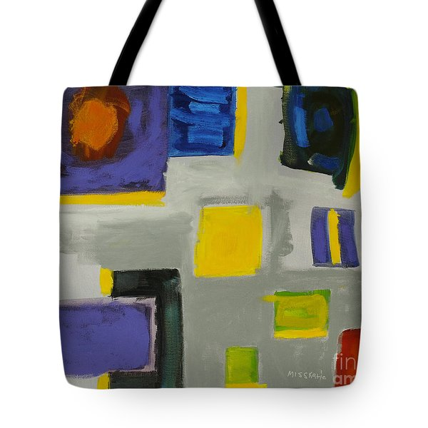 Squares Tote Bag by Katie OBrien - Printscapes