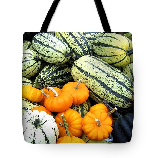 Squash Harvest Tote Bag by Will Borden