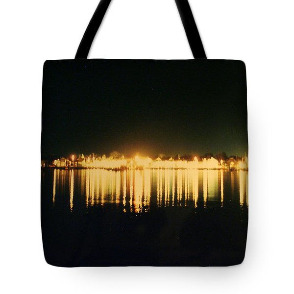 St. Augustine Lights Tote Bag by Kenneth Albin
