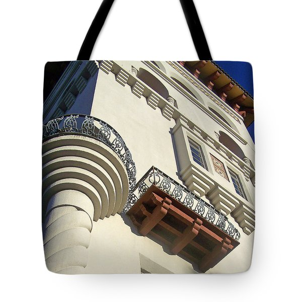 St. Augustine Spanish Colonial Ornate Tote Bag by Patricia Taylor