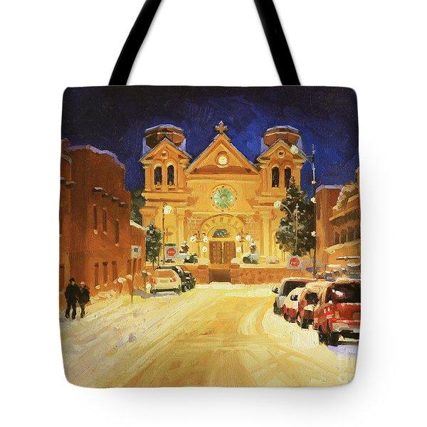 St. Francis Cathedral Basilica  Tote Bag by Gary Kim