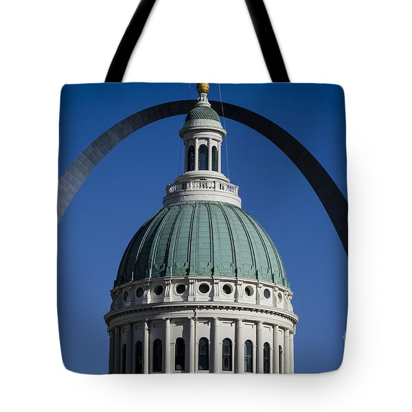St. Louis Arch Tote Bag by Andrea Silies
