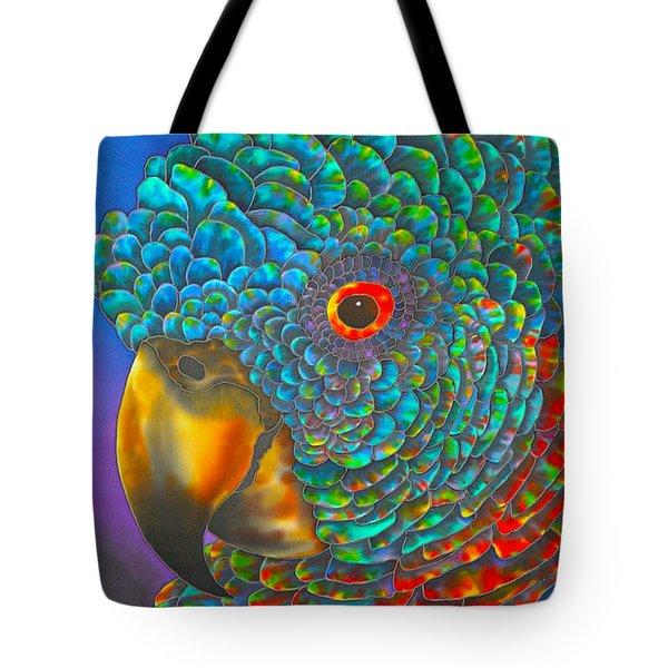 St. Lucian Parrot Tote Bag by Daniel Jean-Baptiste