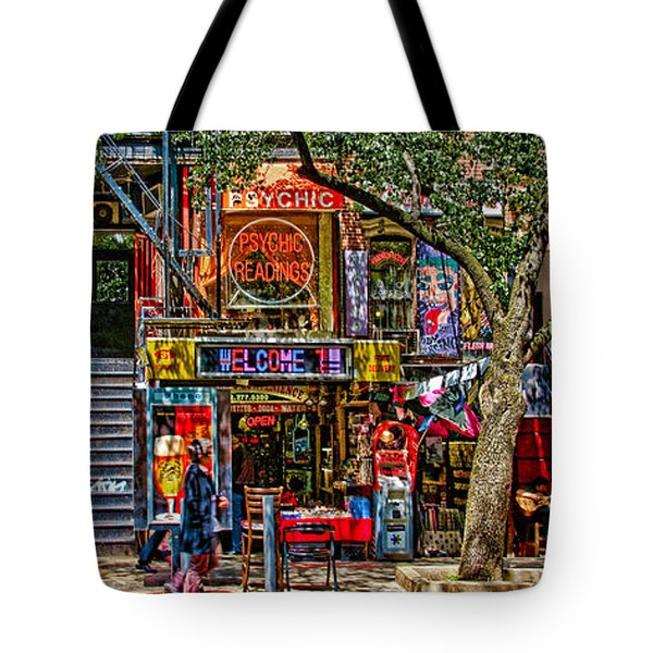 St Marks Place Tote Bag by Chris Lord