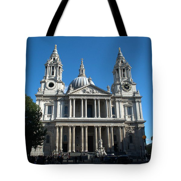 St Pauls Cathedral Tote Bag by Chris Day