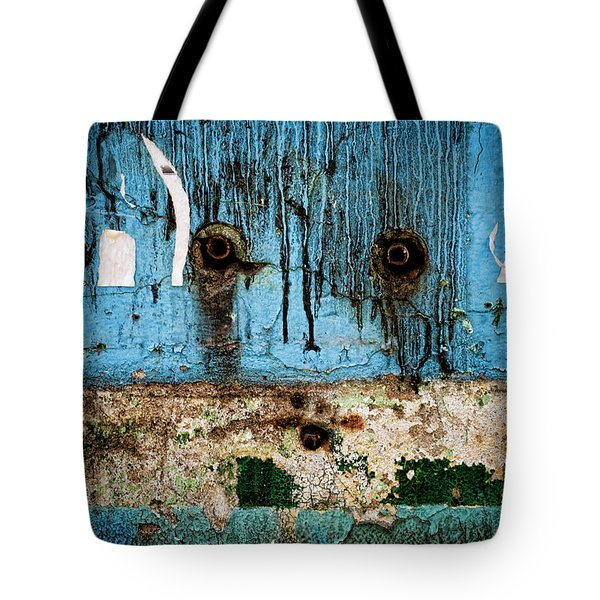 Stained And Weary Tote Bag by Michelle Sheppard