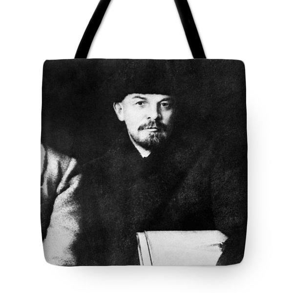 Stalin, Lenin & Trotsky Tote Bag by Granger
