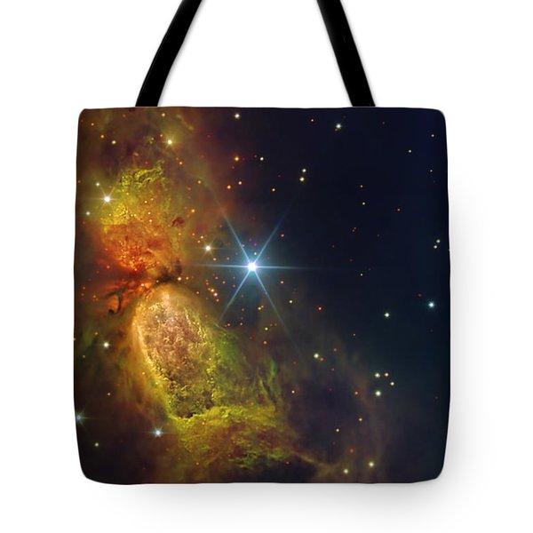 Star Creation Tote Bag by Paul Van Scott