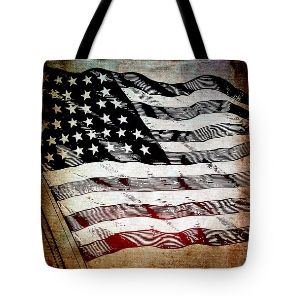 Star Spangled Banner Tote Bag by Angelina Vick