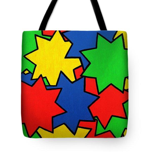 Starburst Tote Bag by Oliver Johnston