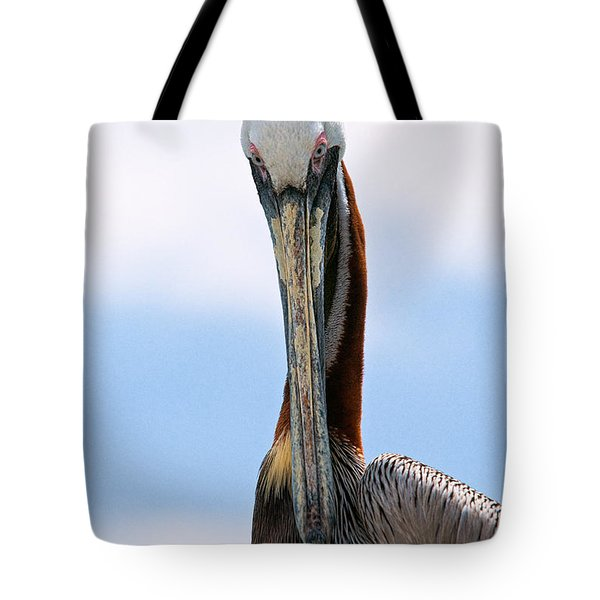Stare Down Tote Bag by Christopher Holmes