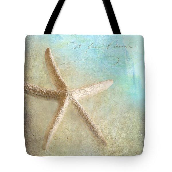 Starfish Tote Bag by Betty LaRue