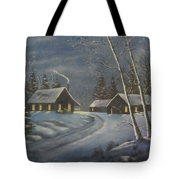 Starry Night Tote Bag by Terry Boulerice