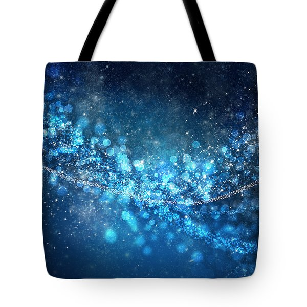 Stars And Bokeh Tote Bag by Setsiri Silapasuwanchai
